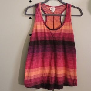 Horizontal stripe tank Top